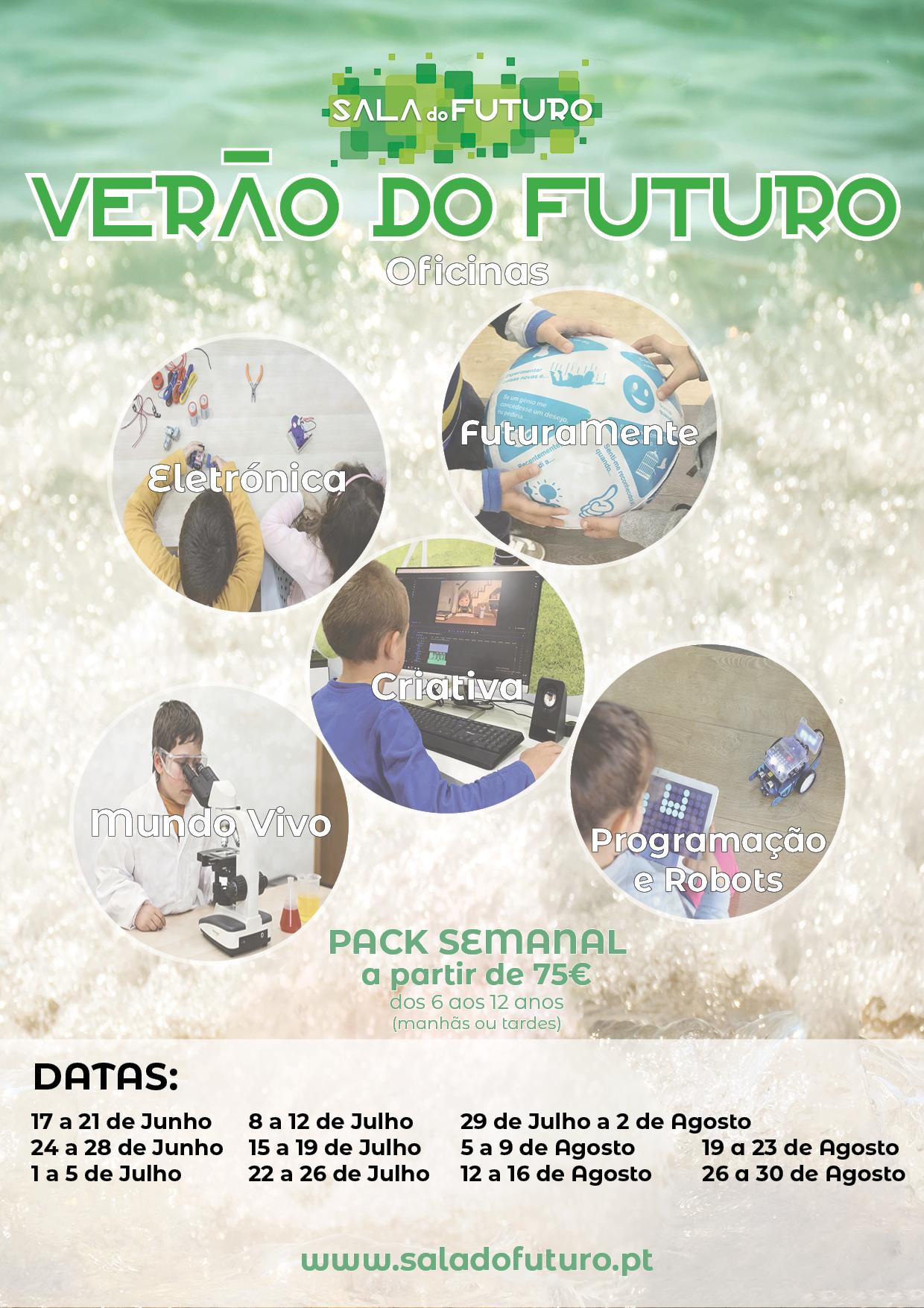 Férias Escolares – Verão do Futuro