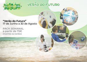 Férias Escolares são aqui na Sala do Futuro!