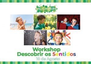 Descobrir os 5entidos – workshop