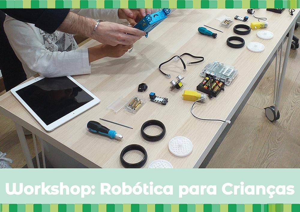 Robótica para Crianças – Workshop