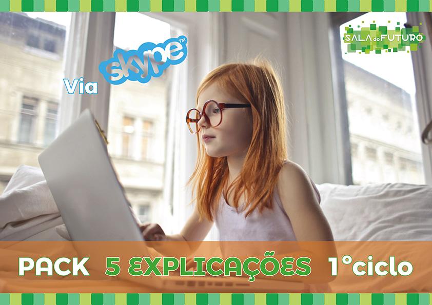 Pack explicações 1º Ciclo Skype