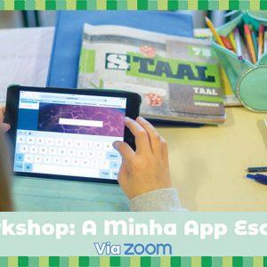 Workshop A minha App Escolar