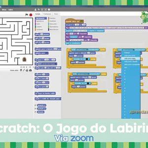 Workshop Scratch: o jogo do labirinto