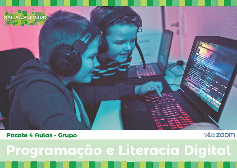Aulas de Programação e Literacia Digital
