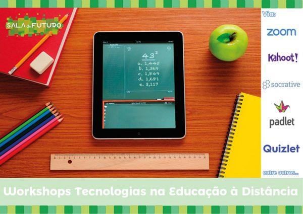 Pacote Workshops Tecnologias na Educação à Distância