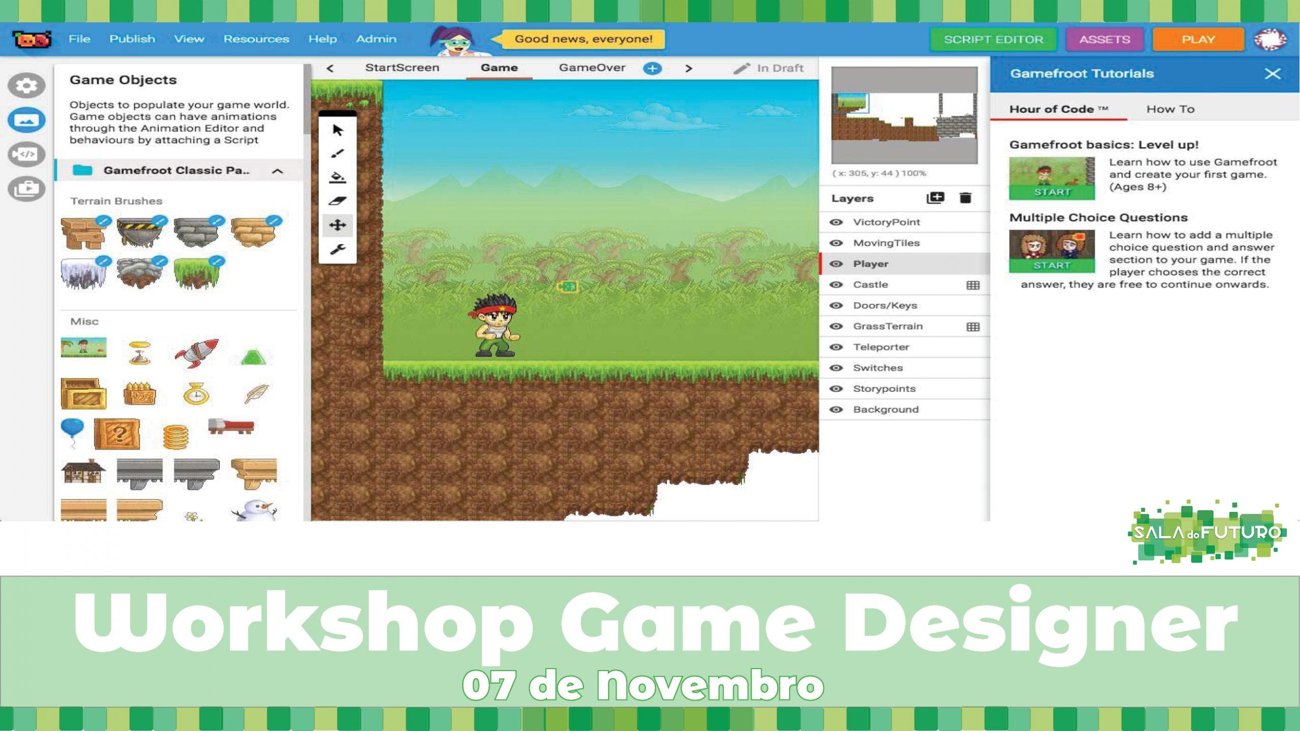Workshop: Game Designer