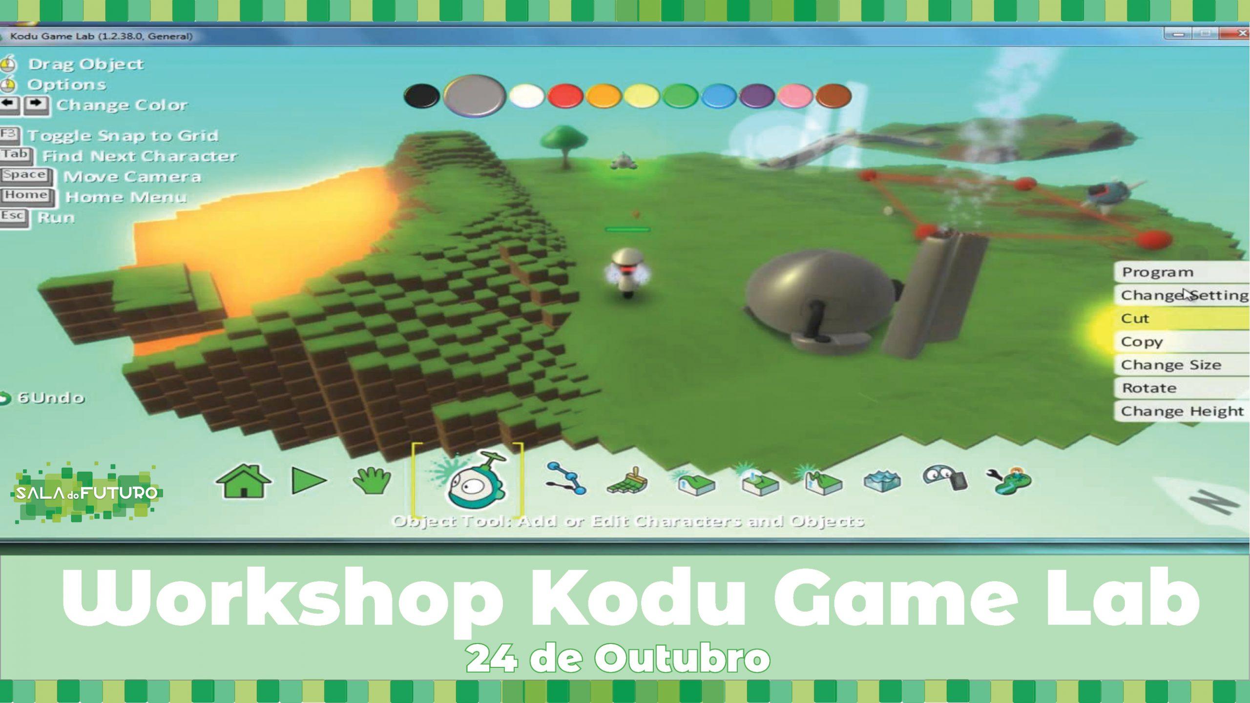 Workshop: Kodu Game Lab