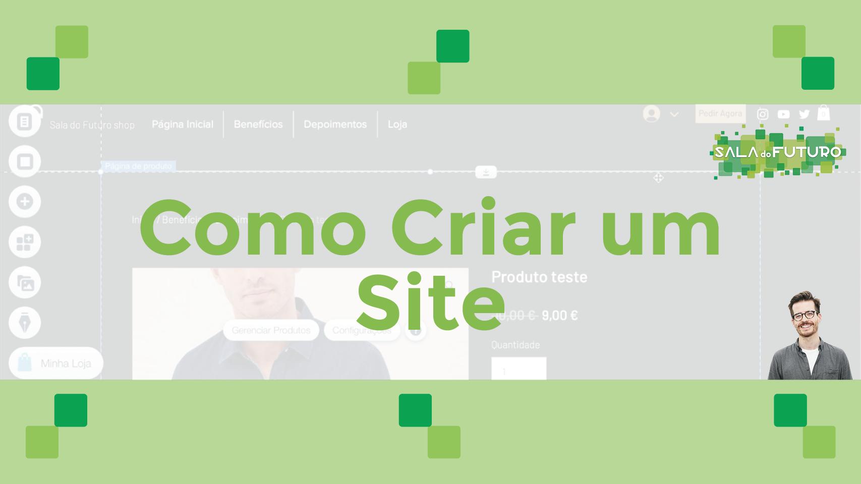 Como Criar um Site – Curso online