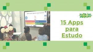 Read more about the article 15 Apps para o Estudo