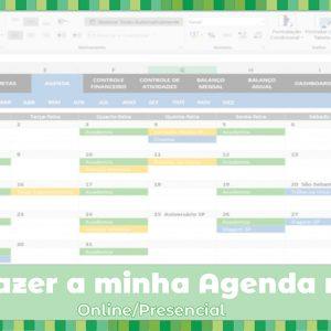 Workshop: Como fazer a minha Agenda no Excel