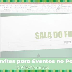 Workshop: Fazer convites para eventos no PowerPoint